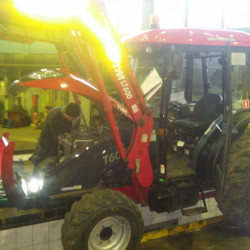 TYM LT600 tractor : Fuel consumption monitoring