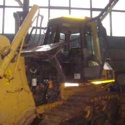 Komatsu D65E bulldozer : Fuel consumption monitoring