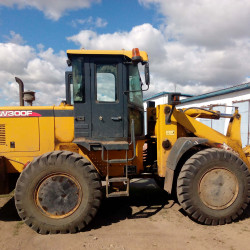 LW300 front loader : Fuel consumption monitoring