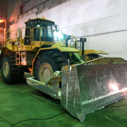 CAT 843H big front loader : Fuel consumption monitoring